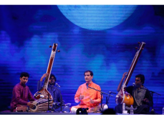 Curtain falls on the 3nd night of Bengal Classical Music Festival 2016