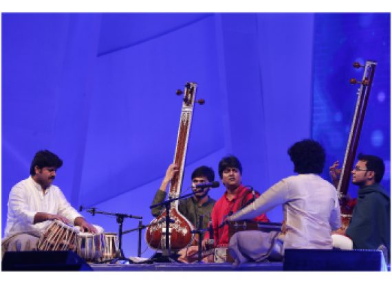 The 5th and last night of the Bengal Classical Music Festival 2016 started with fascinating renditions
