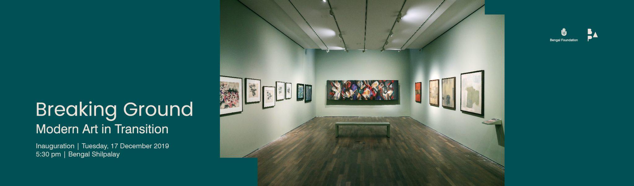 Breaking Ground: Modern Art in Transition