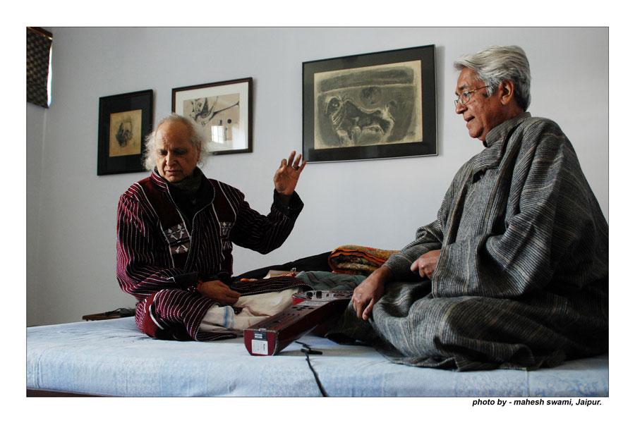 Sikhiya, Dikhiya, Parakhiya: Pandit Jasraj in conversation with Mukund Lath